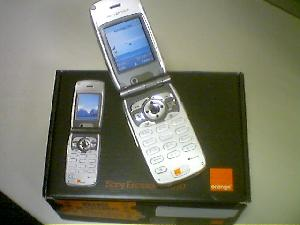 The Sony Ericsson Z1010 3G phone lives! This isn\'t mine, but I\'m  working on it.