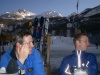 Apres ski beers.  Very important for strength and health