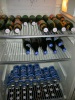 A well-stocked beer fridge