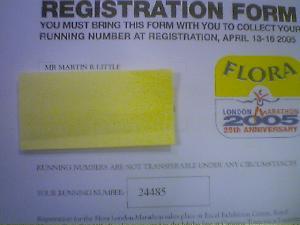 So, I\'m number 24485! Woohoo!