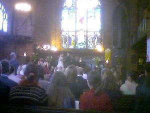 A fantastic day in Paisley for Michelle & Gareth\'s wedding.