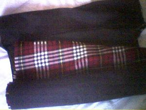 If you\'ve got a kilt, this is the way to carry it - rolled up. Works a treat and not folded in half.