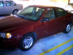 This time I\'ve got a Pontiac Grand Am V6.  Lucky I didn\'t request a large car,  eh?  ;-)