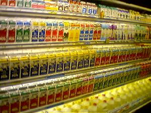 Last night I went to the market to get some milk.  After just over two hours trying to decipher the labels on the shelves, I gave up and  bought some flavoured water instead.