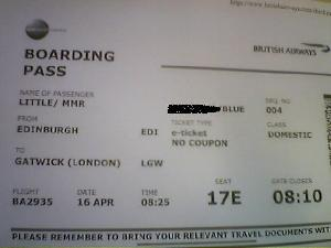 British Airways lets me check-in up to 24hours ahead of take-off AND I can print my own boarding card. Word!