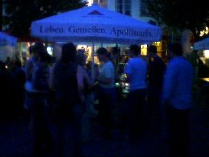 We\'re ALL in Eutin, near Hamburg, for Dietmar & Birte\'s wedding. Metres of beer all round.