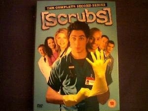 My most wonderful girlfriend bought me Scrubs series 1 on DVD for my birthday. My addiction was mildly lessening after days of compulsive viewing, and then series 2 came out ... and the same day that same lovely girlfriend bought it for me. That ROCKS!