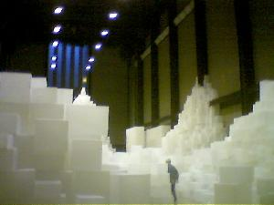 World of boxes at Tate Modern.